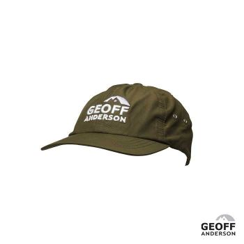 GEOFF ANDERSON cap Flexfit Adjustable green, water repellent