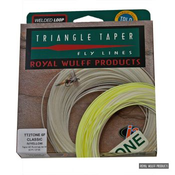 Royal Wulff Triangle Taper Classic J3 2-tone