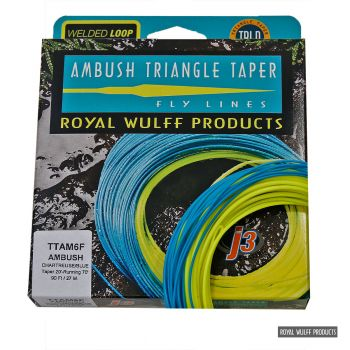 Royal Wulff Triangle Taper Ambush floating