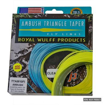 Royal Wulff Triangle Taper Ambush floating clear intermediate head