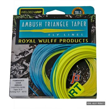 Royal Wulff Triangle Taper Ambush short floating