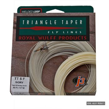 Royal Wulff Triangle Taper Classic J3 ivory