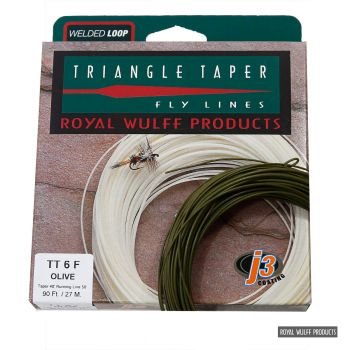 Royal Wulff Triangle Taper Classic J3 orange