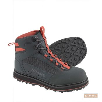 Simms Tributary wading shoe rubber sole carbon