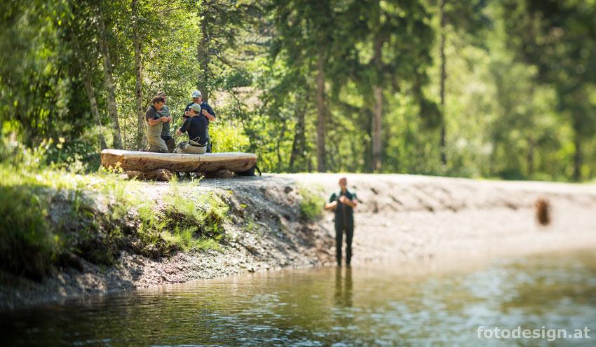 Pijawetz Fliegenfischerkurse und Gewässer