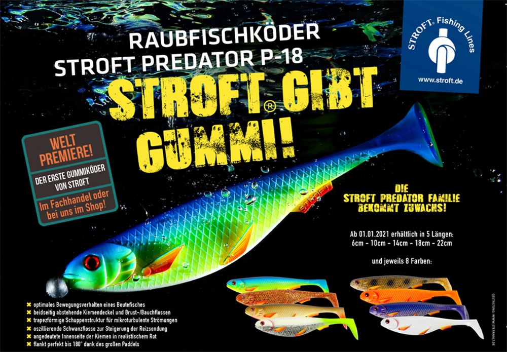 STROFT Predator Gummifische